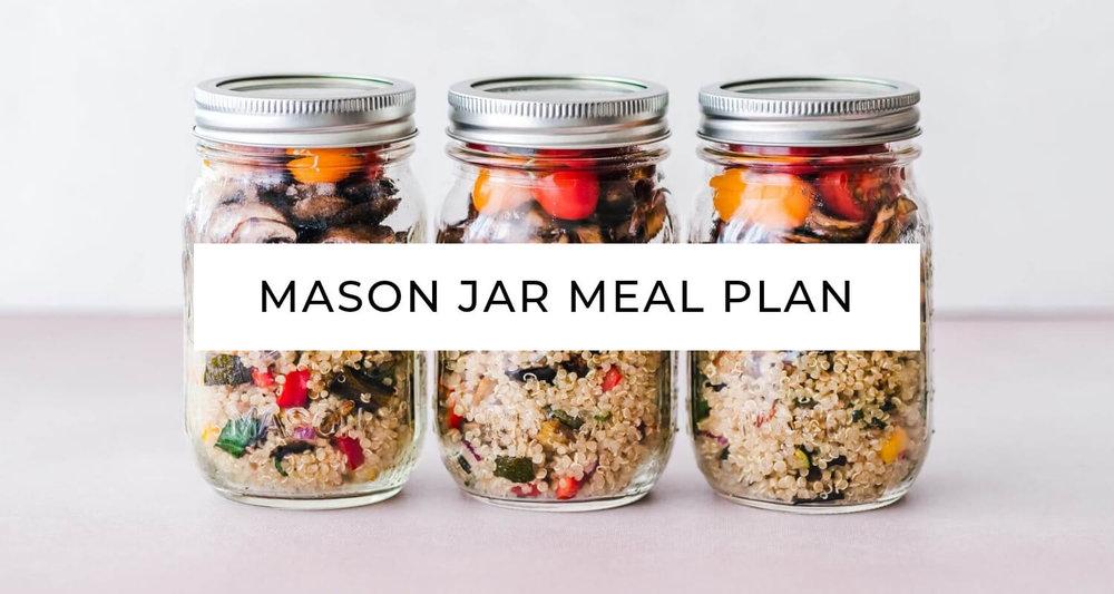 Holisticole - Mason Jar Meal Plan