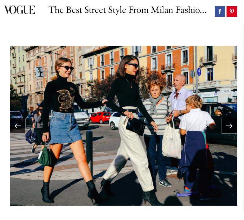 Best Street Style From Milan Fashion Week Vogue Tamar Kate