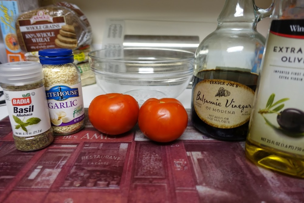My ingredients (Ignore the background food.  I like to let you see that I am cooking in a real life kitchen.  Nothing fancy.  If I can do it, you can do it).