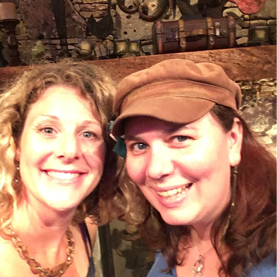 Finding friends on the road is the best. With Heather Miller.