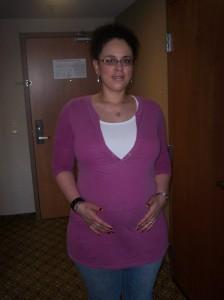 5 mths pregnant