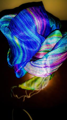 This silk scarf from World Vision is a beautiful reminder for World Water Day, March 22.