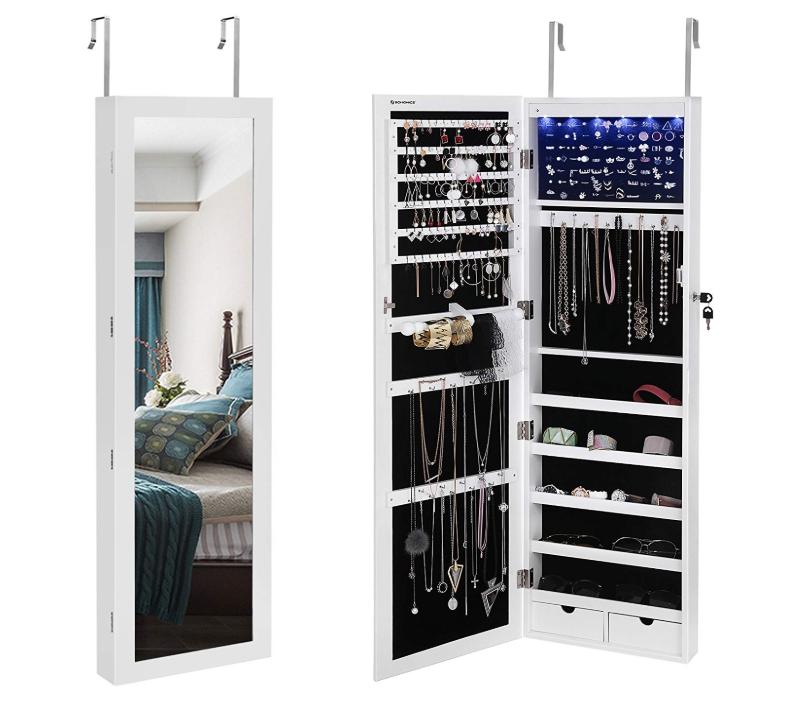LED Jewelry Cabinet - Amazon