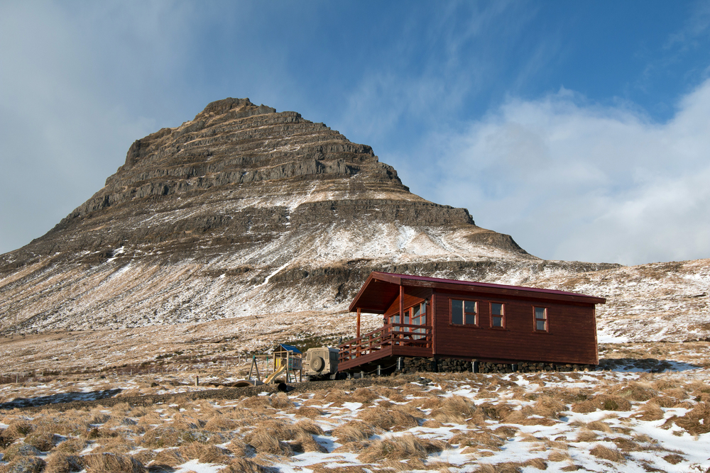 Our Airbnb at the base of Mt. Mt. Kirkjufell