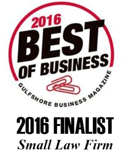 Family First legal group was voted best family law practice in southwest florida by gulfshore business magazine for 2016