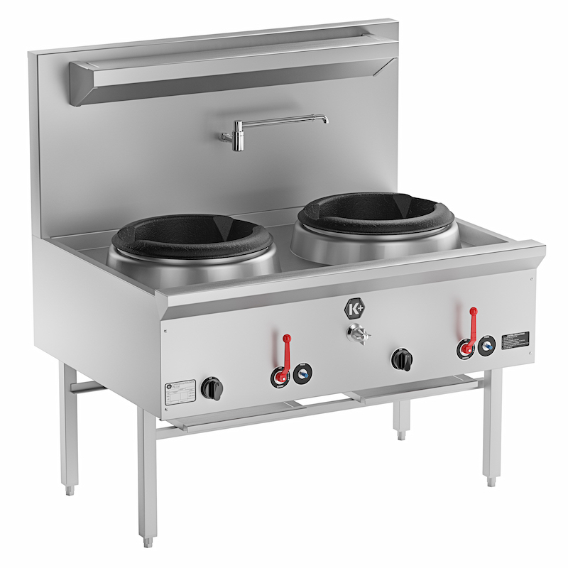 K+ Range Waterless Wok Table