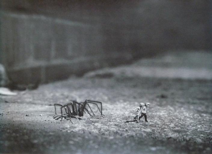 SLINKACHU  |  Stranger Dranger   Lithograph |16.5 x 23.4