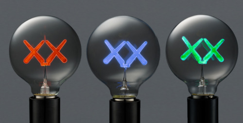 KAWS  |  Bulbs   Glass | Edition: 1000 | 2.25 x 4.75