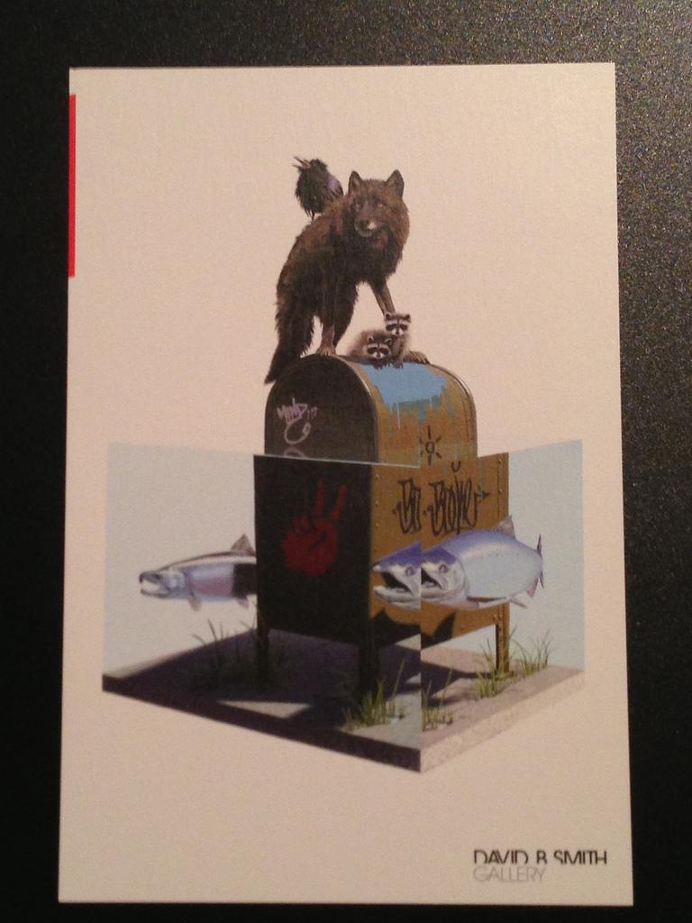 JOSH KEYES | Toten IV   Lithograph |6 x 9