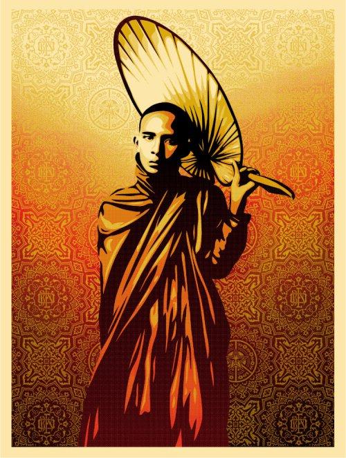Shepard Fairey - Burmese Monk.jpg