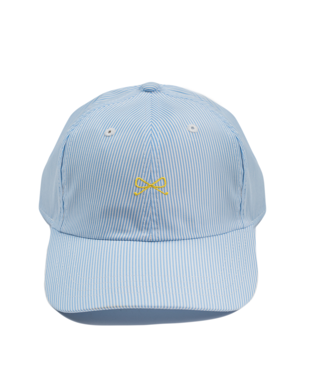 SE Hat in Blue/White with yellow logo