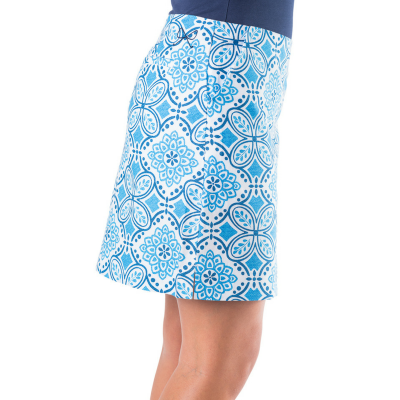 Pictured: The Paige Skort in Country Club Length