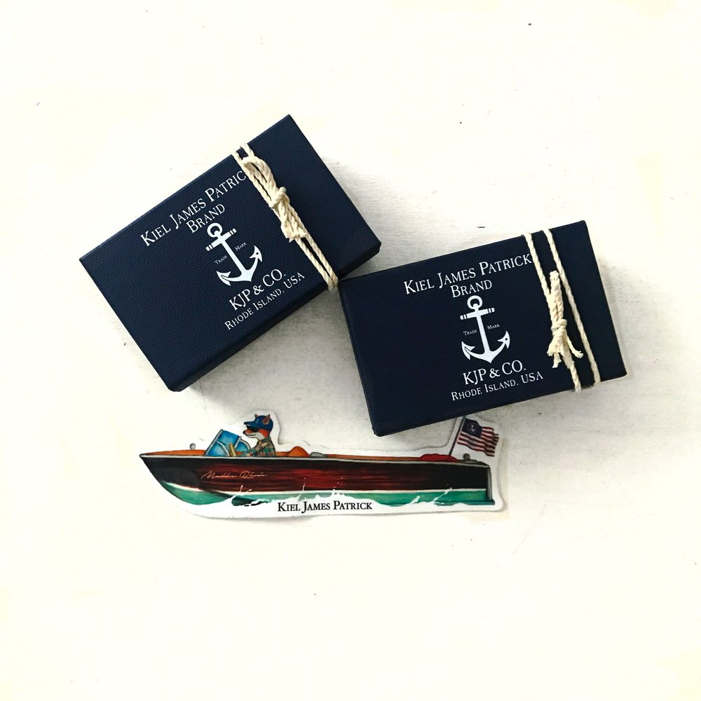 I love their nautical packaging!