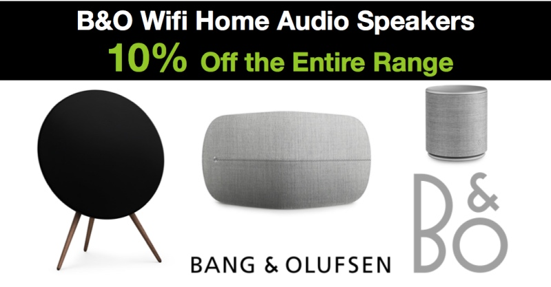 B&O WiFi Home Audio Speakers