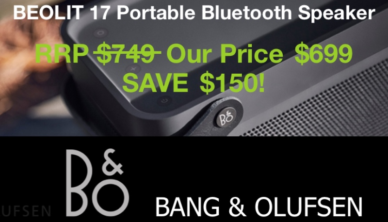 B&O Beolit 17 Portable Bluetooth Speaker