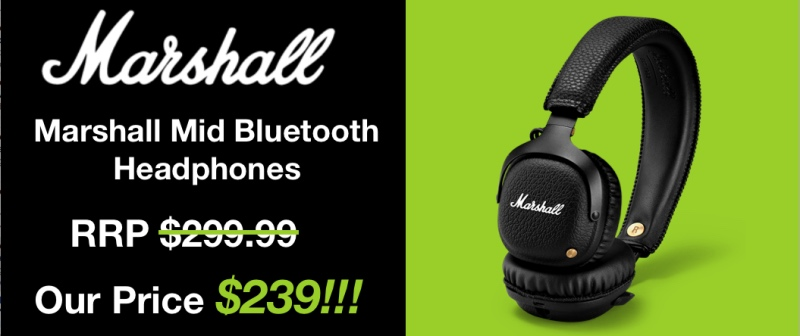 Marshall Mid Bluetooth Headset