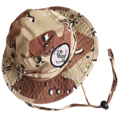 Bucket Hat Logo Desert Logo Camo Bucket Hat