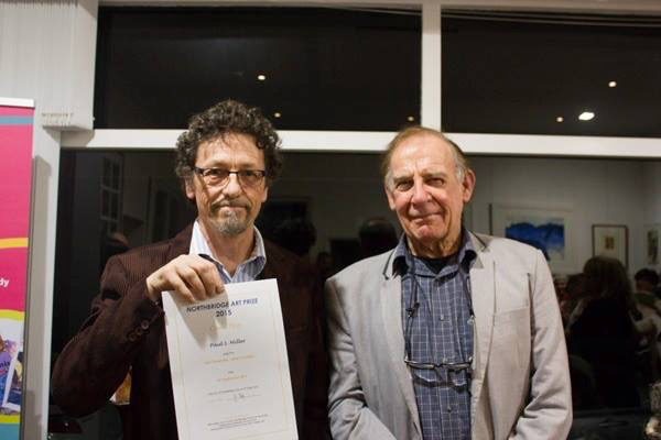 Image of Paul Miller with judge Alan Somerville
