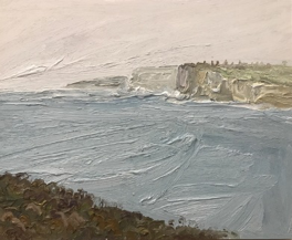 Grand Prize Winner - David Wiggs        South from North Head – Plein Air