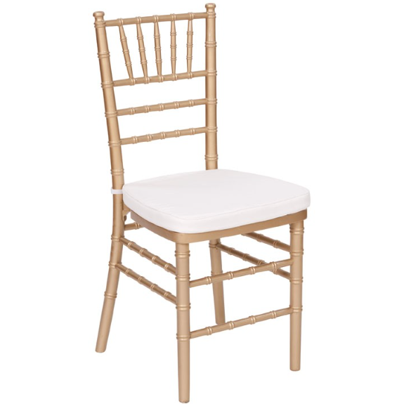 Gold Chivari Chairs