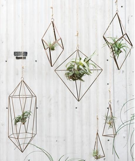 Hanging Himmeli Sculptures (Asst)