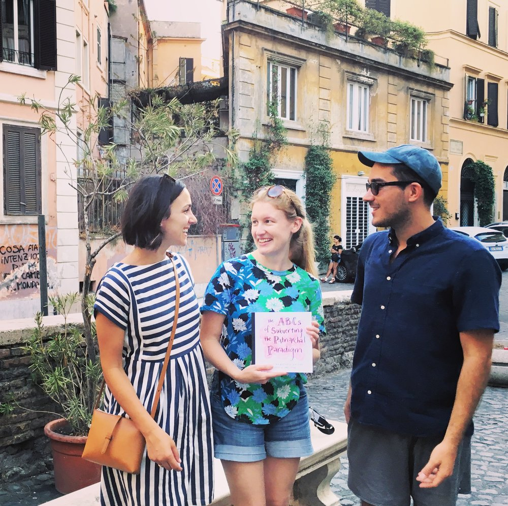 Three New Yorkers subverting the patriarchy in Rome