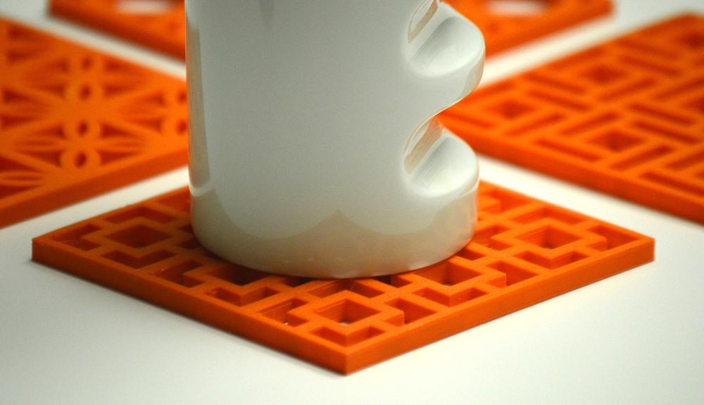 breeze block coaster - product design — graphaus design