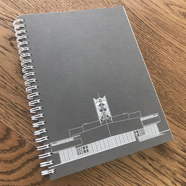 Christmas gift?Architecture inspired sketchbook. See profile for Etsy store address or message me. #floridasouthern #franklloydwright #design #sketchbook #silkscreen #bulletjournal #anniepfeifferchapel #centralfloridamodern