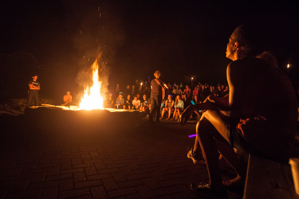 Large Campfire Amphitheater