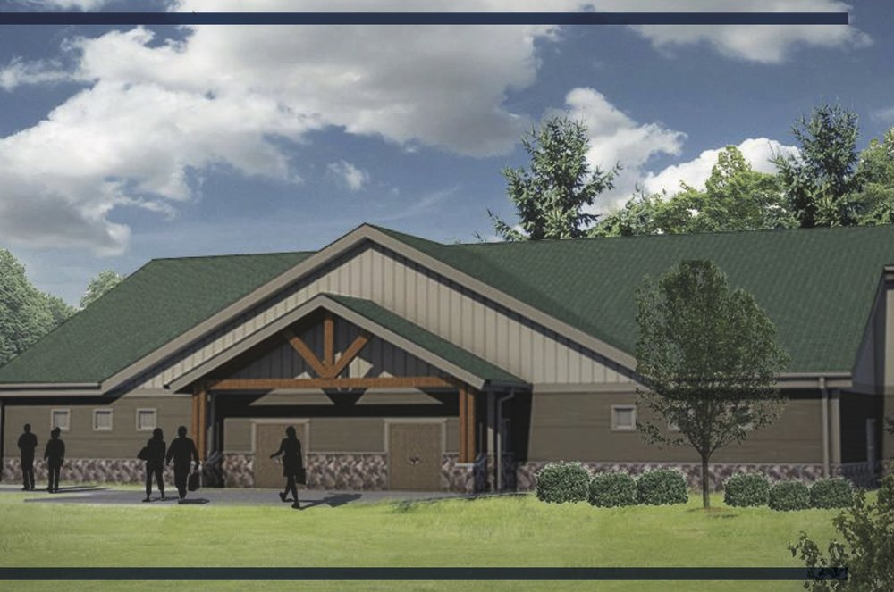 NEW MULTIPURPOSE BUILDING - 7,500 SQ FT - COMING FALL 2018