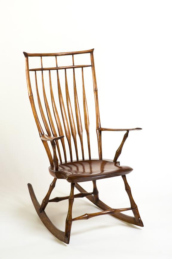 DSC_2871.jpg  sc 1 st  Luke A Barnett Chairmaker | American Windsor Chairs u0026 Rocking Chairs & Birdcage Rocking Chair - Natural u2014 Luke A Barnett Chairmaker ...