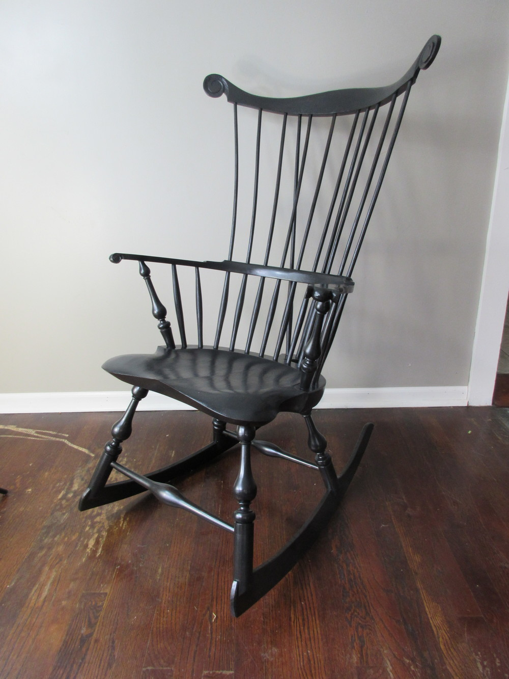 Comb Back Rocking Chair U2014 Luke A Barnett Chairmaker | American Windsor  Chairs U0026 Rocking Chairs