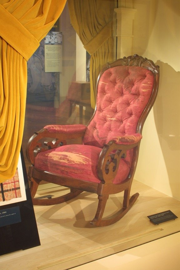 The Lincoln Assassination Chair in Michigan