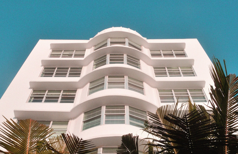 HOTELS  the miami beach hotel is an oasis with a touch of italian modernism.