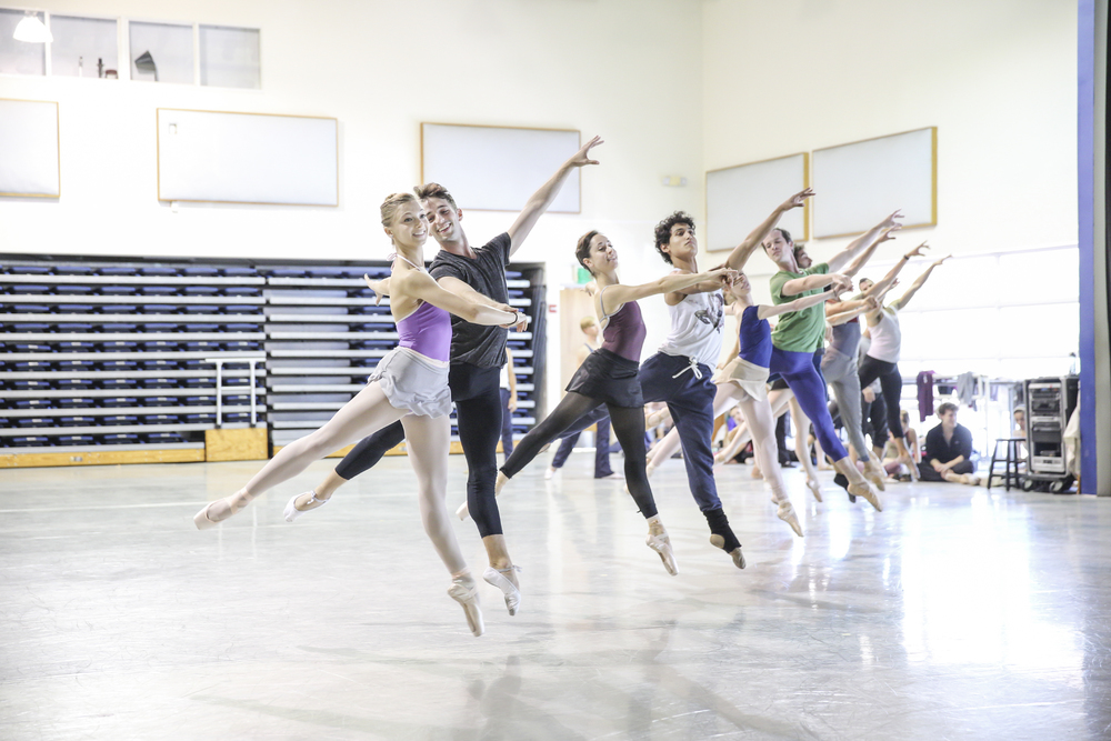 MIAMI CITY BALLET DANCERS REHEARSING A MIDSUMMER NIGHT'S DREAM | PHOTOGRAPH BY DANIEL AZOULAY