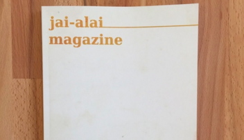 jai-alai magazine | photo courtesy of o,miami