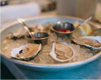 it's all about oysters at mignonette
