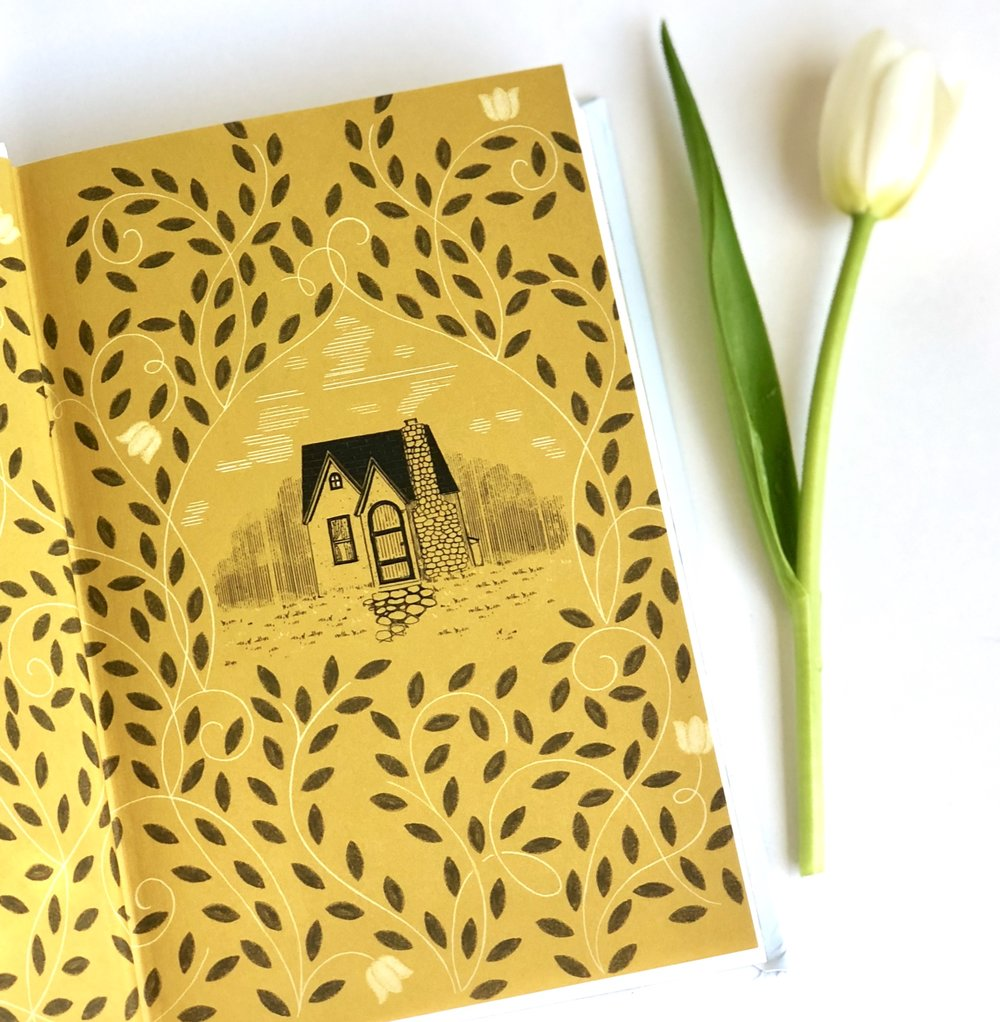 The end-papers in this book are so charming!