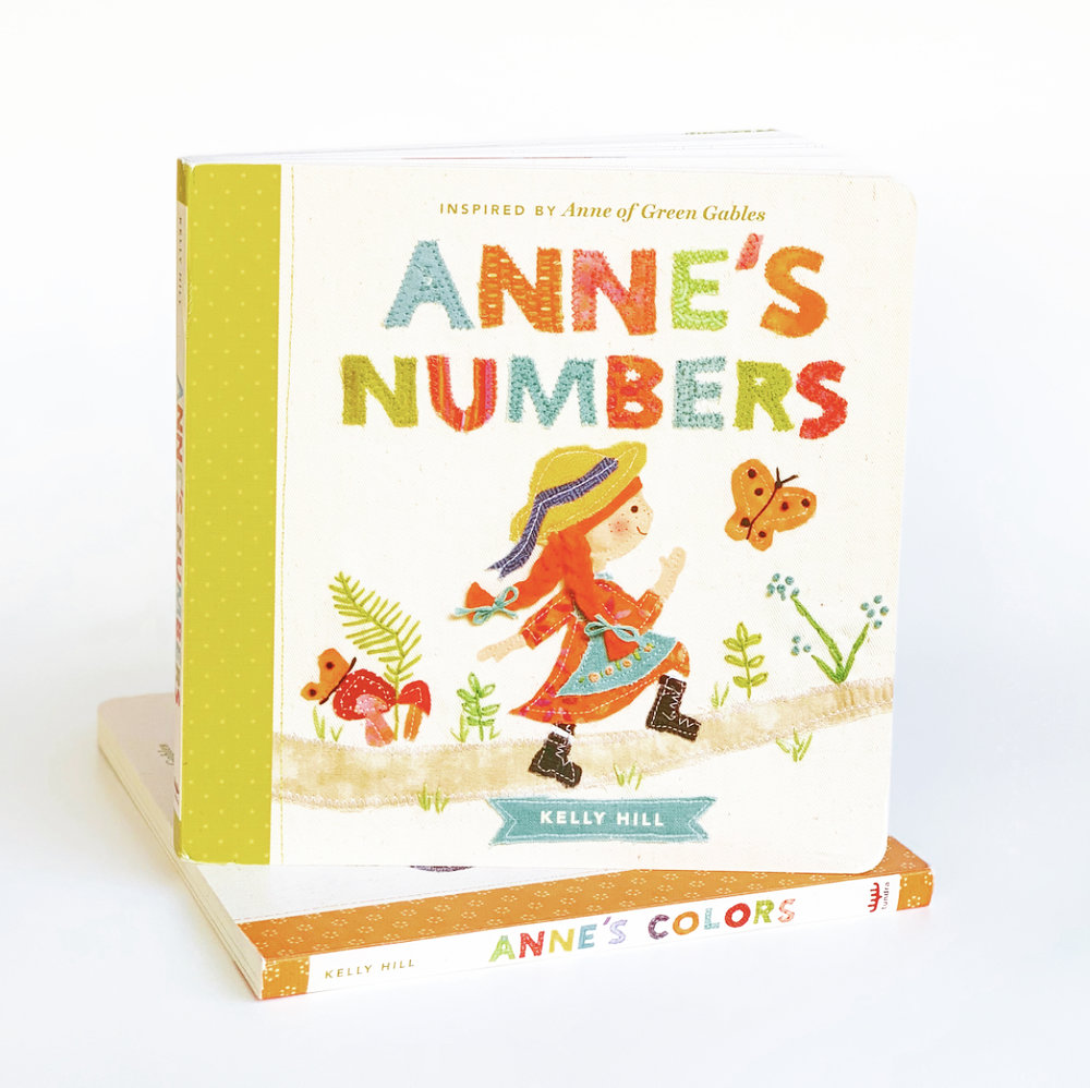 Anne's Numbers  features colorful designs illustrating the numbers one through ten.