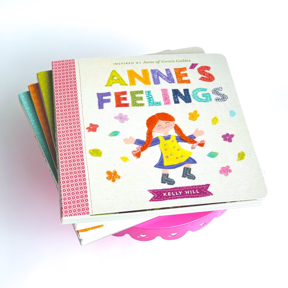 Anne's Feelings  is a great way to teach your children how to share their feelings.