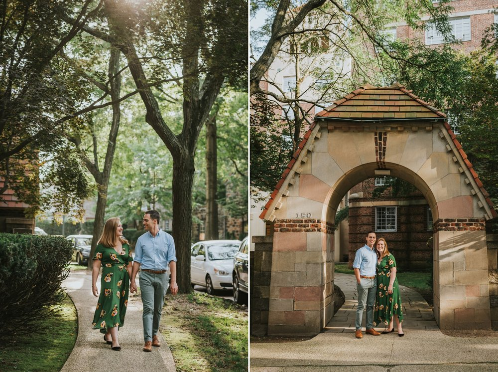 Abigail and Andrew Forest Hills Gardens Engagement NYC 00.jpg
