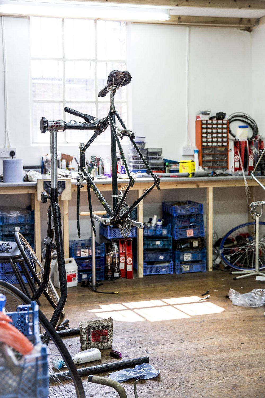 The Vintage Bike Cave