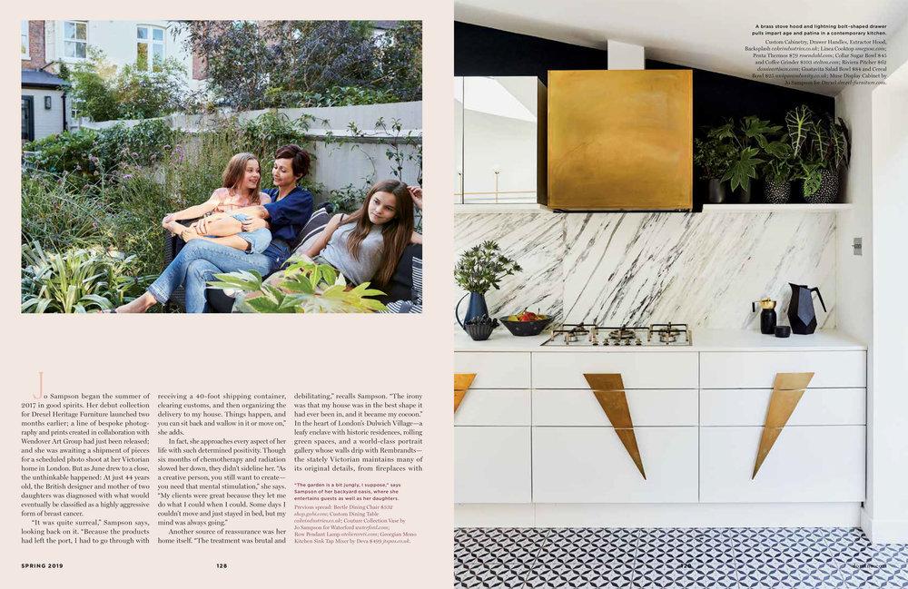 Domino Magazine - Jo Sampson