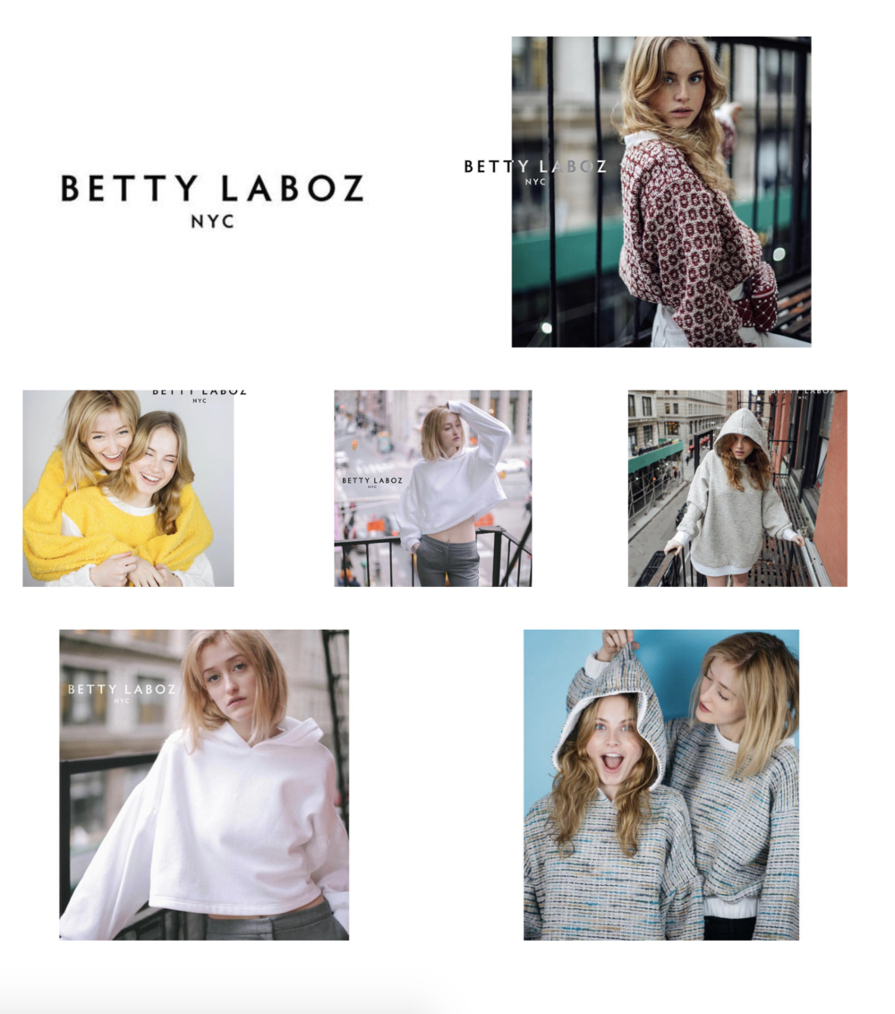 - Betty Laboz Clothing Line Launchhttps://bettylaboznyc.com