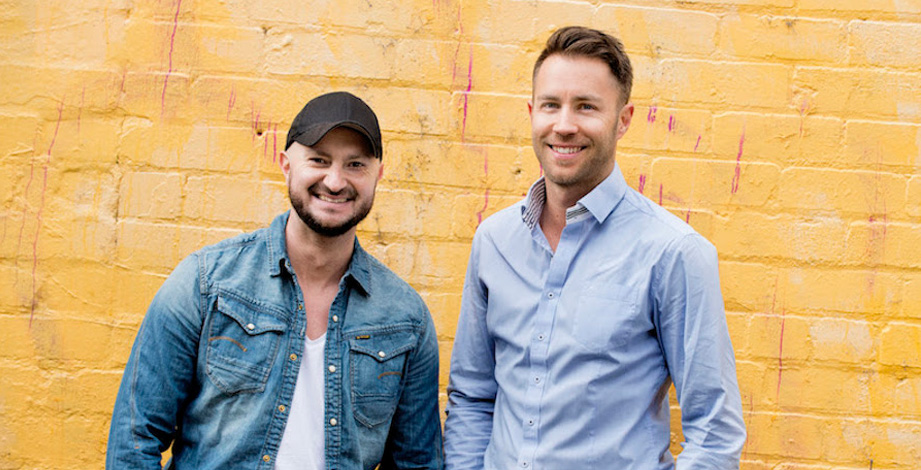 Chad Stephens & Chris Koch - The founders of Pop! (Photo credit:  Startup Daily )