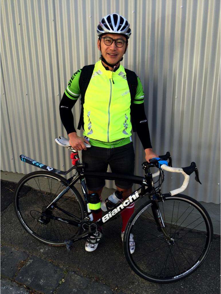 Bike nerd in hi-viz?