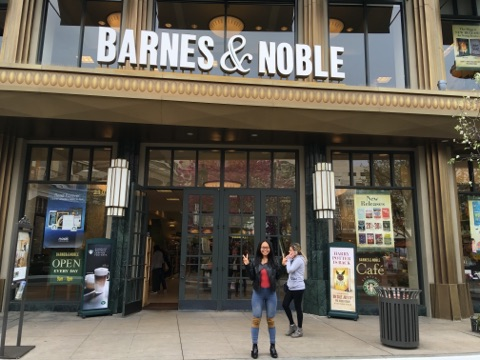 Oh. My. Days: Barnes & Noble bookstore at The Americana at Brand Shopping Mall, CA.
