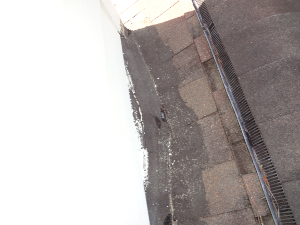 Mastic around roof jacks , chimneys, or at shingles is a good indication of a PREVIOUS roof leak. This type of repair is not a permanent solution.