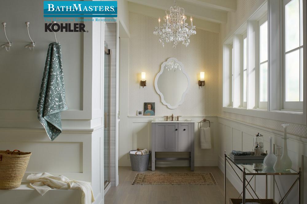 Beautiful neutrals and elegant decor.