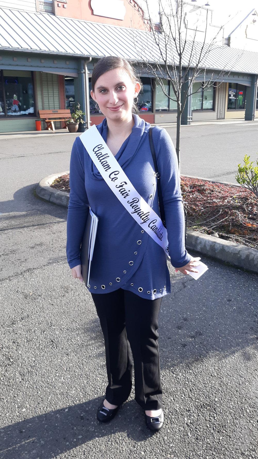 Rebekah Parker Clallam County Fair Royalty
